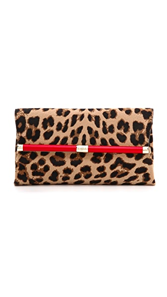 Diane von Furstenberg 440 Haircalf Envelope Clutch