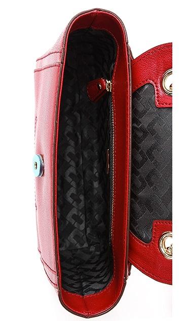 Diane von Furstenberg 440 Embossed Lizard Mini Bag