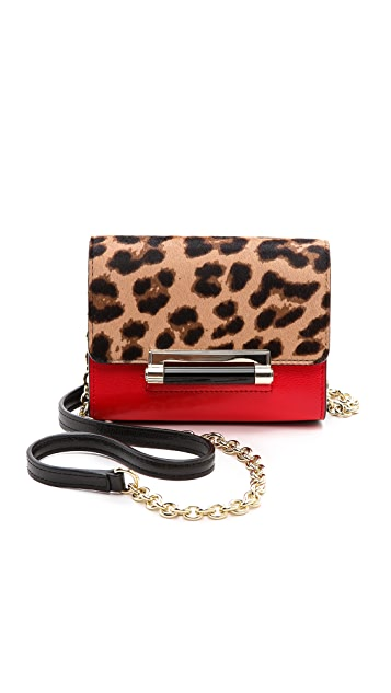 Diane von Furstenberg 440 Haircalf Micro Mini Bag