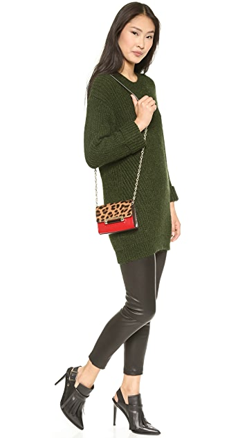 Diane von Furstenberg 440 Haircalf Micro Mini Bag
