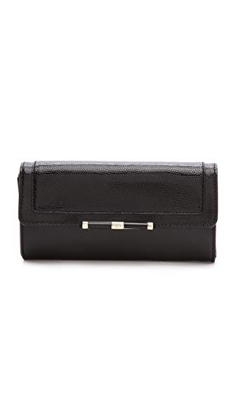 Diane von Furstenberg 440 Flap Continental Wallet