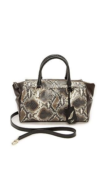 Diane von Furstenberg Python Print Small Duffel Bag