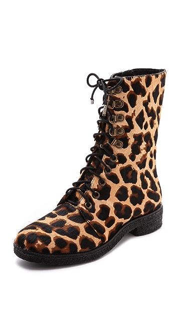 Diane von Furstenberg Ace Combat Boots