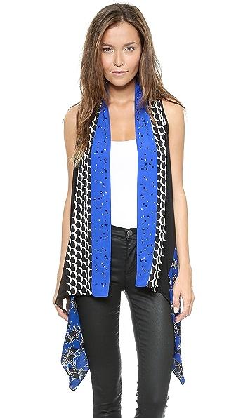 Diane von Furstenberg Short Serape Vest