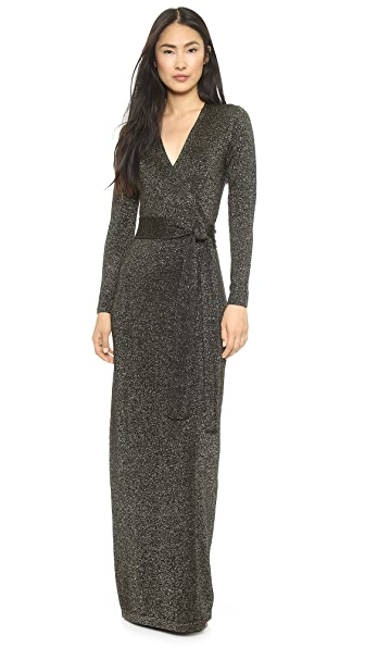Diane von Furstenberg Emma Wrap Maxi Dress
