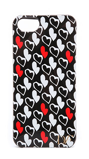 Diane von Furstenberg Stretch Heart iPhone 5 / 5S Case