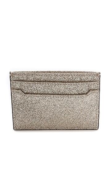 Diane von Furstenberg Glitterati Tuxedo Card Case