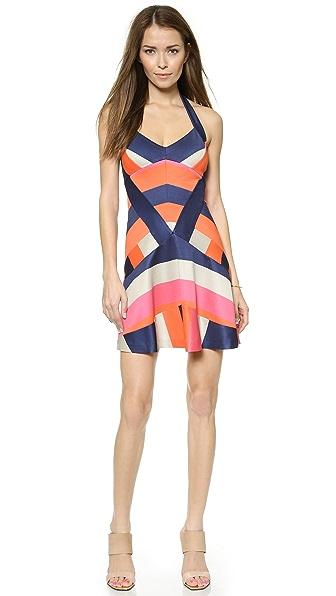 Diane von Furstenberg DVF Harbor Halter Dress