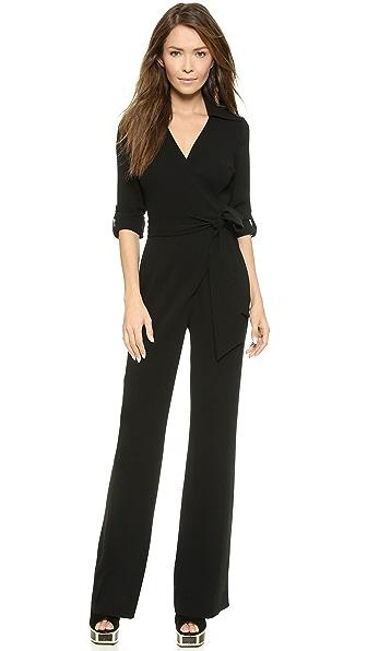 Diane von Furstenberg Stacy Wrap Jumpsuit