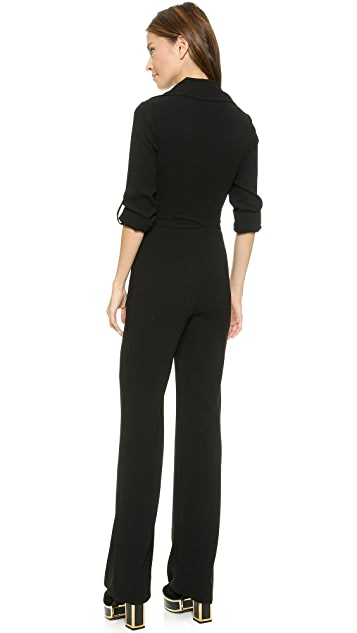 Diane von Furstenberg Stacy Wrap Jumpsuit