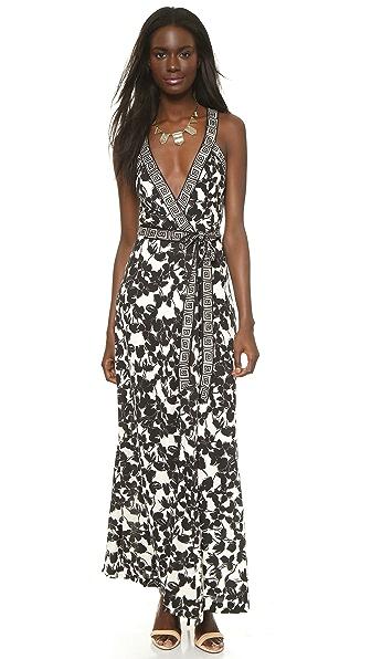 Diane Von Furstenberg Samson Wrap Maxi Dress Shopbop