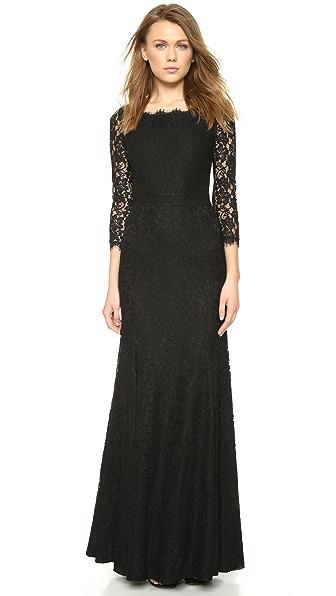Diane von Furstenberg Zarita Lace Gown