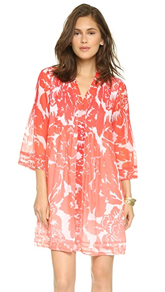 Kupi Diane von Furstenberg online i prodaja Diane Von Furstenberg Layla Dress Rose Ombre Coral haljinu online