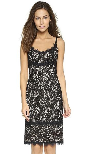 Kupi Diane von Furstenberg online i prodaja Diane Von Furstenberg Olivia Lace Dress Black/Nude haljinu online