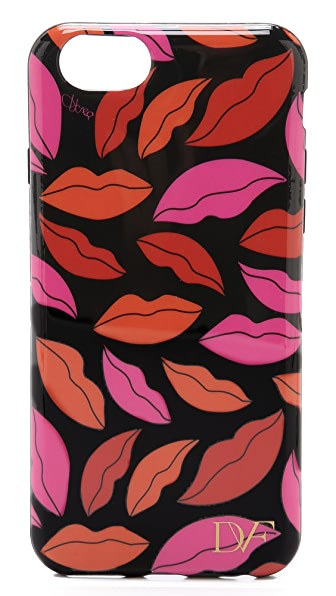Diane von Furstenberg Midnight Kiss Printed iPhone 6 / 6S Case