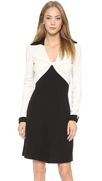 Kupi Diane von Furstenberg online i prodaja Diane Von Furstenberg Twist Dress Black/Ivory haljinu online