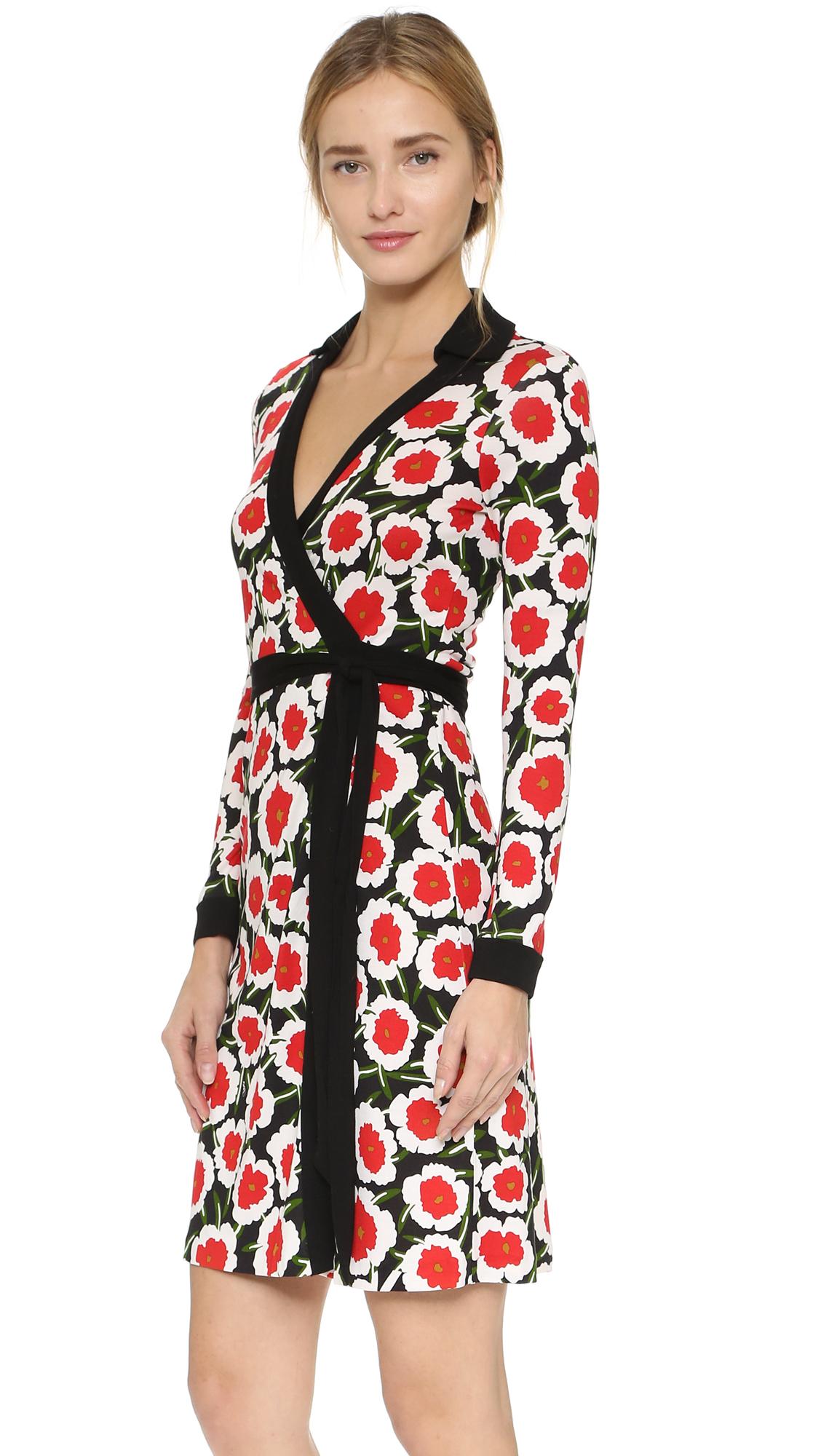73acbeef3dd3 Diane von Furstenberg New Jeanne Two Wrap Dress   SHOPBOP