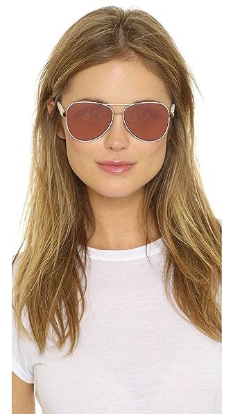 f1cd4e7462 Diane von Furstenberg Brandy Sunglasses