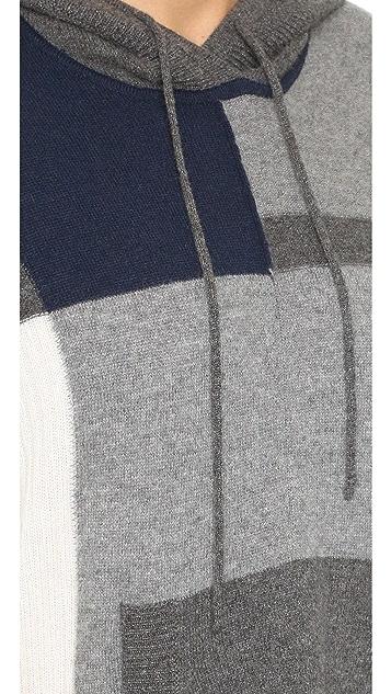 Diane von Furstenberg Hudson Patchwork Cashmere Poncho