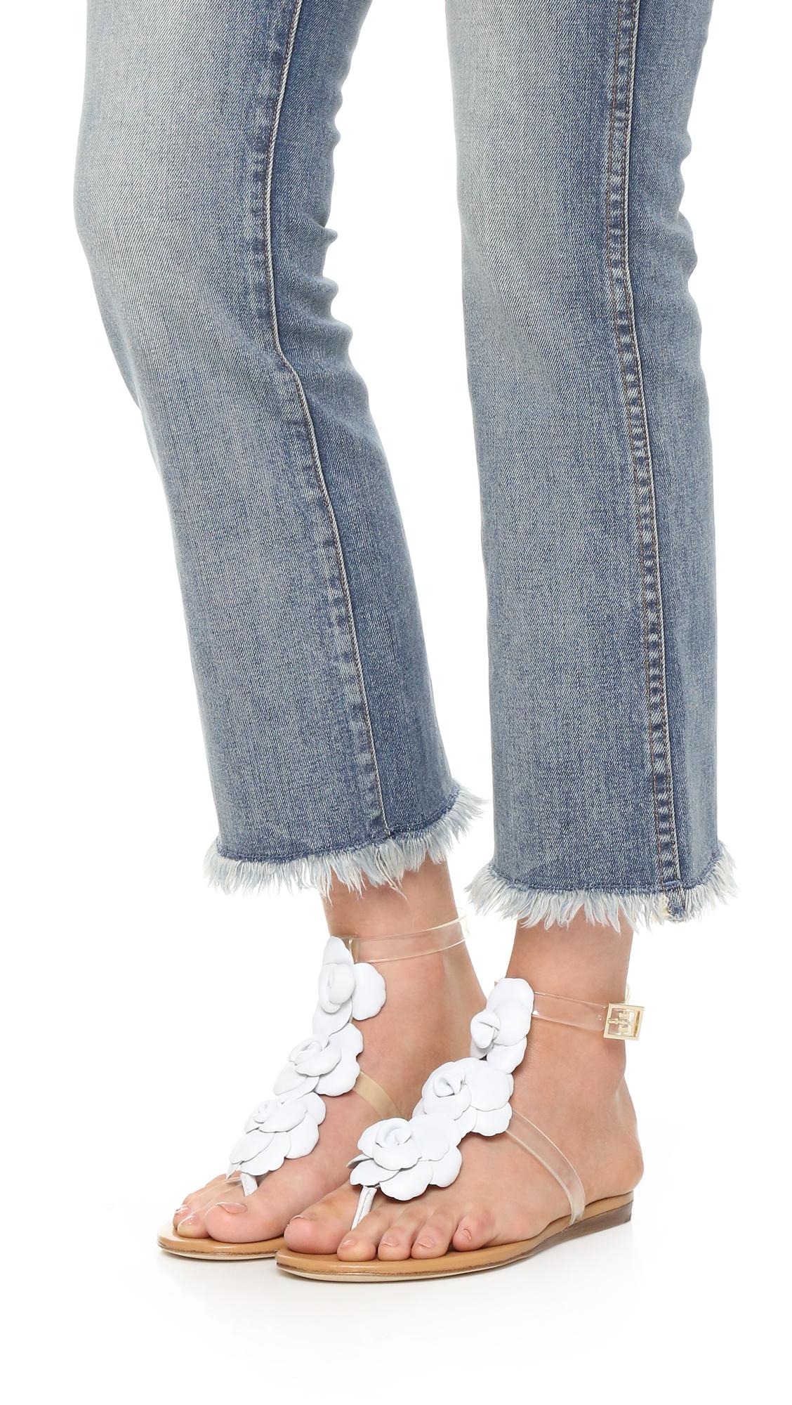 Black poppy sandals - Black Poppy Sandals 23