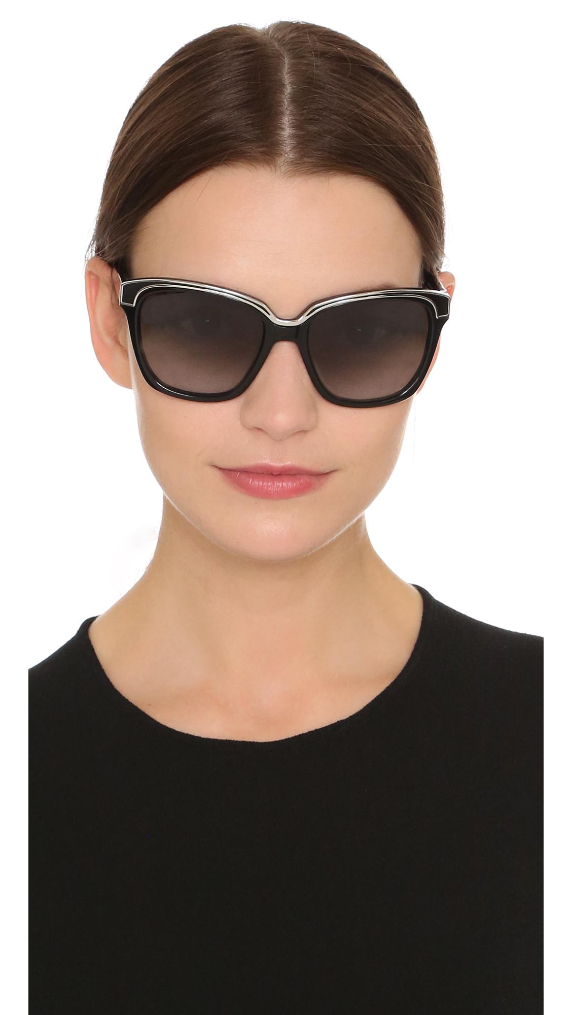 b04c5a392 Diane von Furstenberg Kylie Sunglasses | SHOPBOP