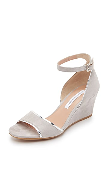 Diane von Furstenberg Asti Wedge Sandals