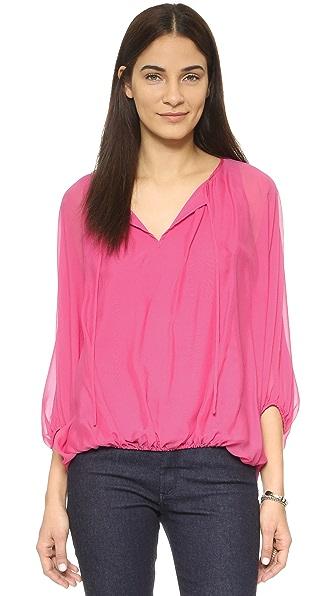 Delicate georgette blouse
