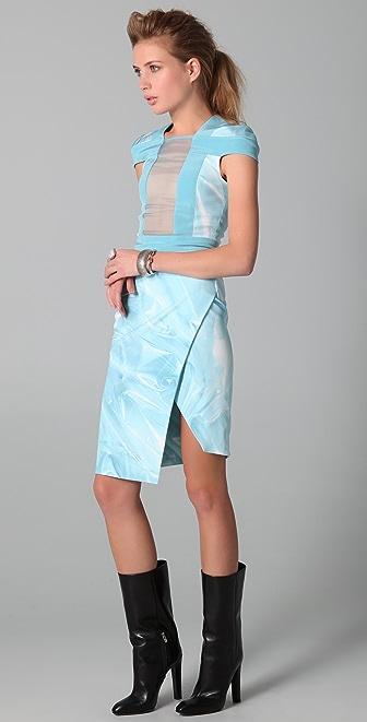 Dion Lee Perspective Interlock Dress