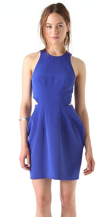 Dion Lee Silk Form External Pleat Dress