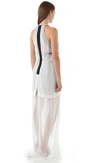 Dion Lee Exo Column Long Dress