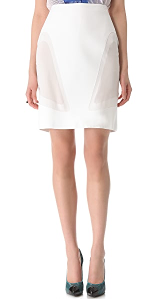 Dion Lee Topographic Skirt