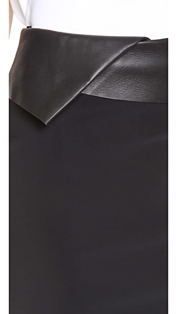 Dion Lee Mirror Zip Skirt