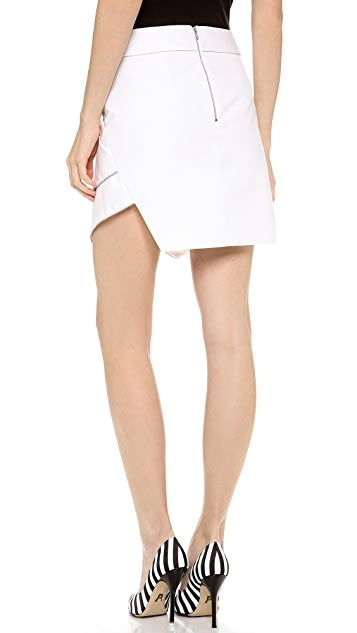 Dion Lee Zip Vertigo Wrap Skirt