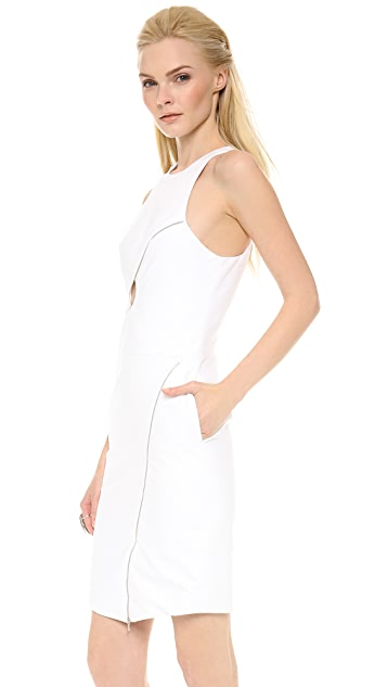 Dion Lee Zip Vertigo Day Dress