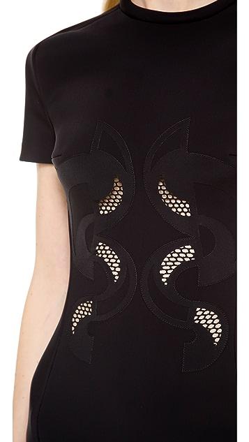 Dion Lee Scuba Lace Dress