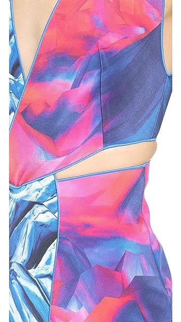 Dion Lee Reverse Terrain Locked Dress