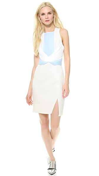 Dion Lee Neo Pleat Mini Dress