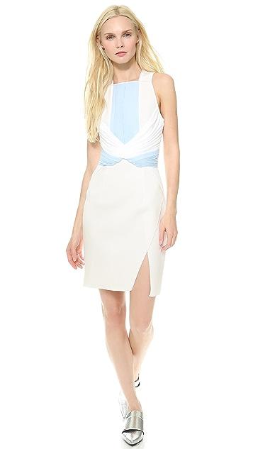 Dion Lee Neo Pleat Mini Dress