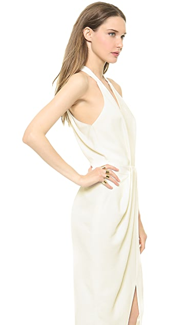 Dion Lee White Wash Dress