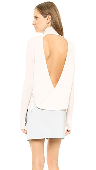 Dion Lee Loop Back Skivvy Sweater