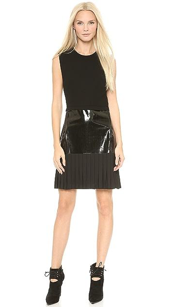 Dion Lee Stencil Pleat Mini Dress