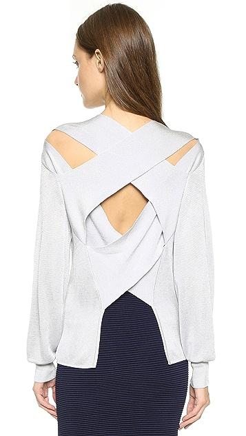 Dion Lee Line II Bandage Back Sweater