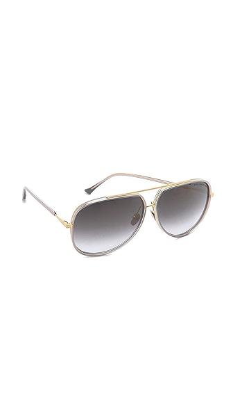 Dita Condor Two Sunglasses - Grey Crystal at Shopbop