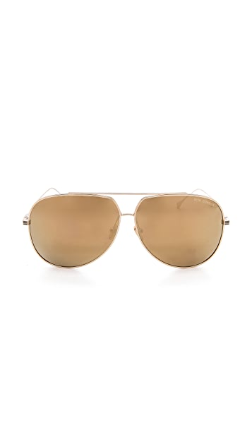 DITA Condor Mirrored Aviator Sunglasses