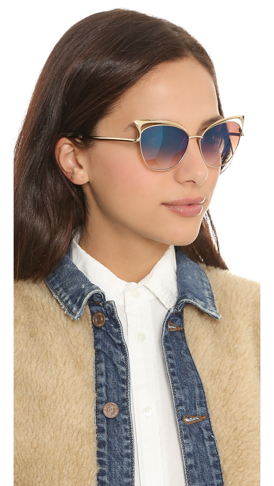 99f11f21ca1 Dita Von Teese Eyewear Femme Totale Sunglasses