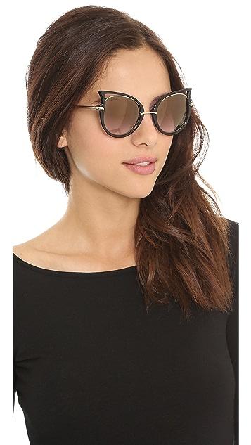Dita Von Teese Eyewear Nocturnelle Sunglasses