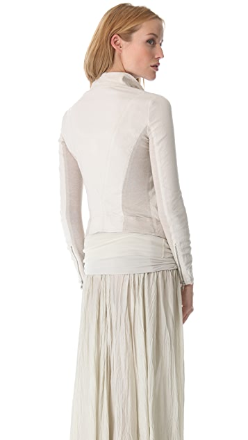 Donna Karan New York Asymmetrical Zip Jacket