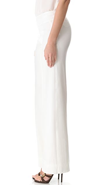 Donna Karan New York Wide Leg Trousers