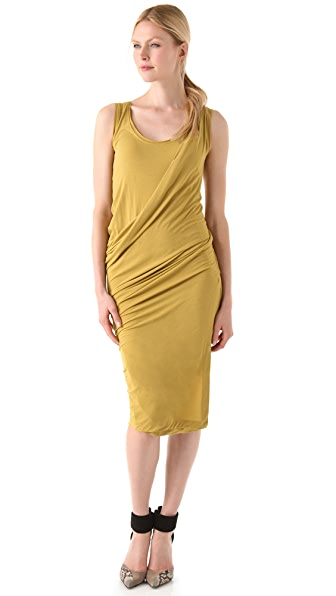 Donna Karan New York Draped Foundation Dress