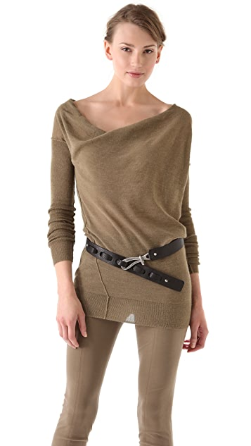 Donna Karan New York Long Sleeve Sweater
